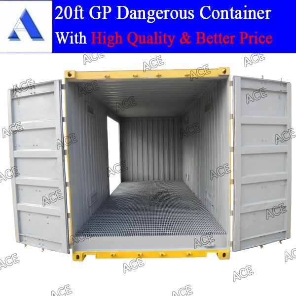 Brand new 20ft dangerous goods open side container for sale