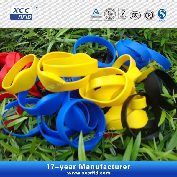 2013 Recycled Silicon RFID Wristband ISO9001:2008