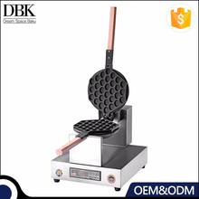 DBK Commercial industrial egg waffle baker / snack machine for company event