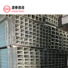 square galvanized steel tube fence posts factory
