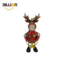 Euro Style Christmas Tree Decoration Deer Pendant Hanging Xmas Party Ornament