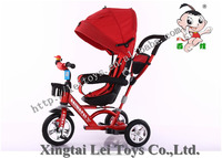 BAIWA selling tricycle baby trike kids ride on car with canopy for best quality and preferential price
