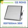 China Manufacturer Aluminum alloy led ceiling panel light,color temperature adjustable 600 600 led panel light price
