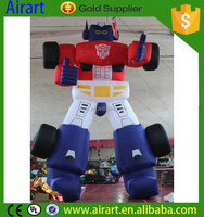 Hot Sale Character Inflatable Robot Man with high quality inflatable optimus prime