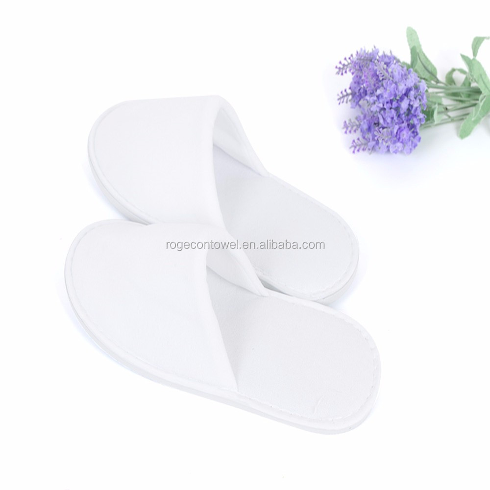 hotel slippers disposable environmental protection disposable hotel slipper Comfortable non-Slip Sole Hotel Slipper Custome Colo