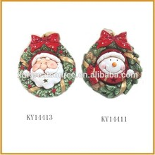 Popular special holiday ceramic artificial christmas wreaths