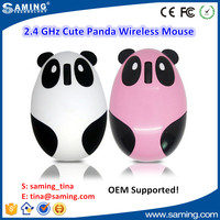 2.4ghz wireless optical mouse_cute panda wireless rechargeable mini mouse