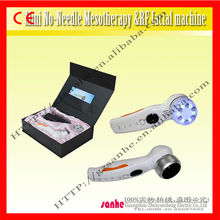 2013 portable LED Needle-free Mesotherapy RF beauty machine