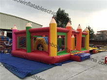 Cheap Obstacle Bouncer And Slide Inflatable For Kids Parties