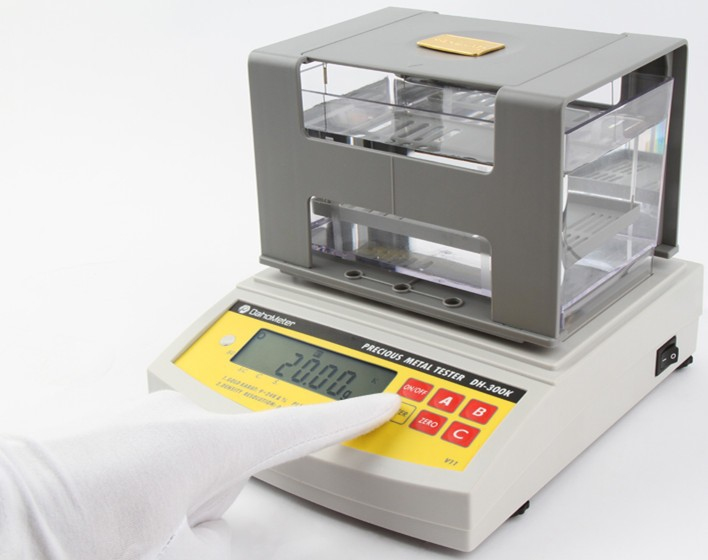 Original Factory supply Digital Electronic Gold Content Tester , Machine Measuring Gold Content