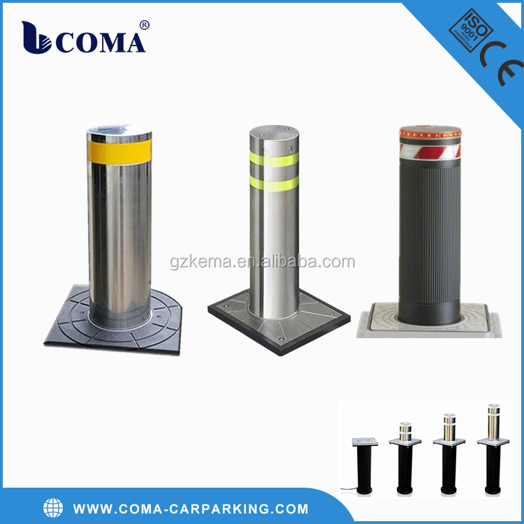 Stainless Steel Automatic Rising solar bollards