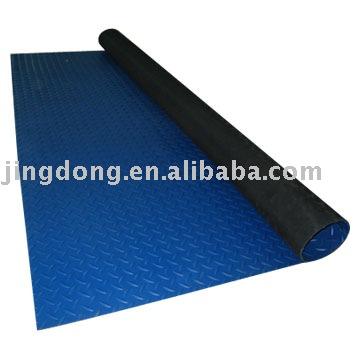 Antideslizante superficie acanalada fina alfombra del piso de goma felpudo identificaci n del - Alfombra de goma para piso ...