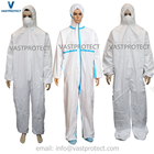 Free Samples Cheap Waterproof Disposable White Coverall Suit