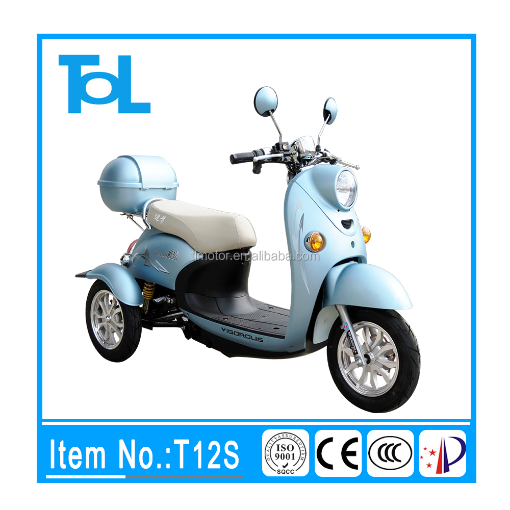 popular across the world 3 wheel long running distance electric scooter car