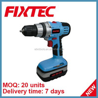 FIXTEC Hot Sale Power Tool 10mm Power Max 18V Cordless Drill