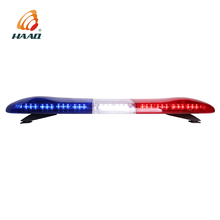 LED red and blue light bar for vehicle car