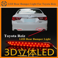 High Quality LED Bumper Light for Toyota Reiz Multifunctional LED Rear Bumper Reflector Light for Toyota Reiz 2013 2014