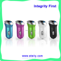 Multi-color OEM best quality usb universal car charger with fire-proofing shell ,CE/RoHS/FCC certified
