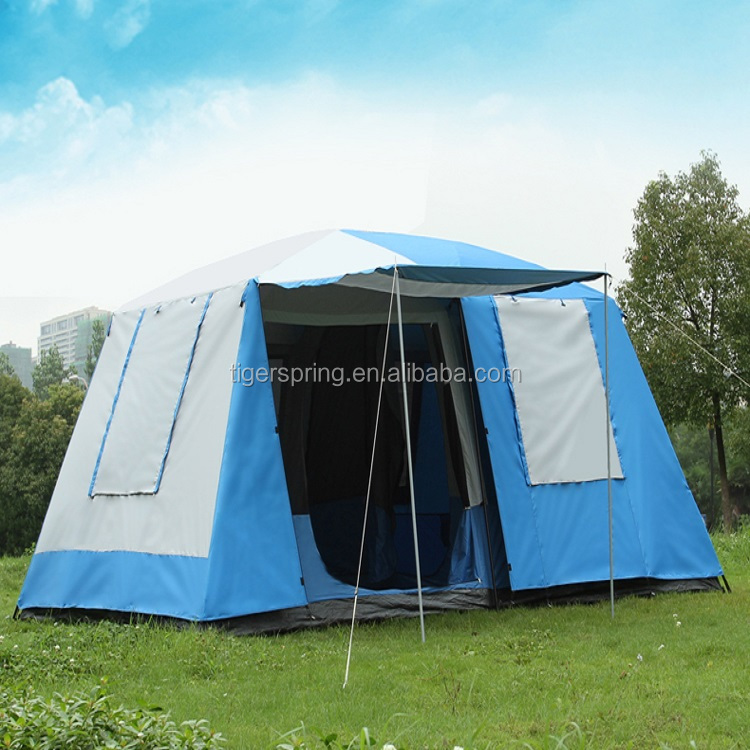 Outdoor Camping 6 Person 2 Room Waterproof Family Large camping Tent