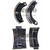 FV51J front & rear brake shoes with brake pad for MITSUBISHI FUSO SUPER GREAT truck