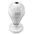 360 Degree Panoramic HD Hidden Wifi Camera Light Bulb Security IP Wireless Camera