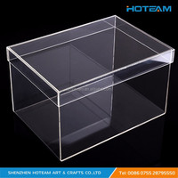 Crystal Clear Stackable Storage Transparent Acrylic Sneaker Box