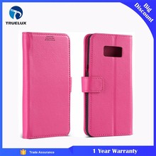 Truelux Flip Leather Case With Stand for Samsung Galaxy S4, Leather Wallet Case for Samsung S4