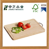 2016 Alibaba Supplier natural high quality oiled wooden cutting board bamboo chopping board