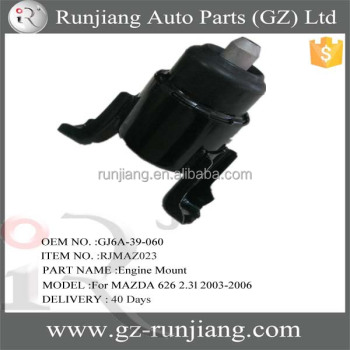 New Products!! OEM NO.GJ6A-39-060 auto exhaust rubber mounts for MAZDA 626 2.3l 2003-2006