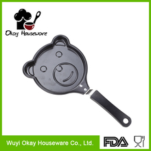 BK-D3009 Carbon steel Non-stick Mini cast iron fry pan