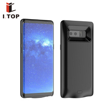 2017 New product slim portable mobile phone power case for Samsung galaxy note 8 battery case