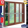 Australia standard factory AS2208 modern wood living room glass design door