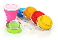 silicone collapsible travel cup,silicone collapsible cup/collapsible silicone cup/folding cup