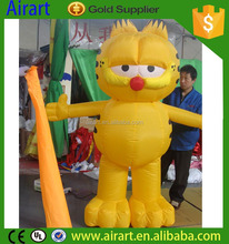 Inflatable cartoon character garfield party decorations
