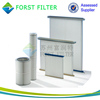 FORST Industrial Applied Air Compressed Filters Heap Panel Filter Cartridge