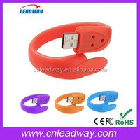 cheap custom silicone slap bracelet usb 1gb 2gb 4gb 8gb 16gb 32gb 64gb full color pvc pendrives