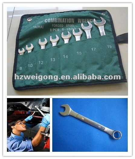 Hand Tools Raised Panel Design Metric Car Wrench