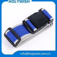 Custom wholesale baggage strap personalized adjustable luggage straps
