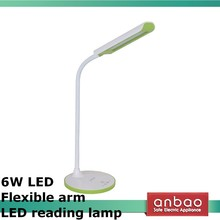 6W side light led table lights eye care office led desk lamp dimmer touch switch flexible led reading lamp