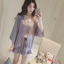 Night Skirt Nighty Wholesale Summer Plain Color Women Silk Pajamas For Honeymoon