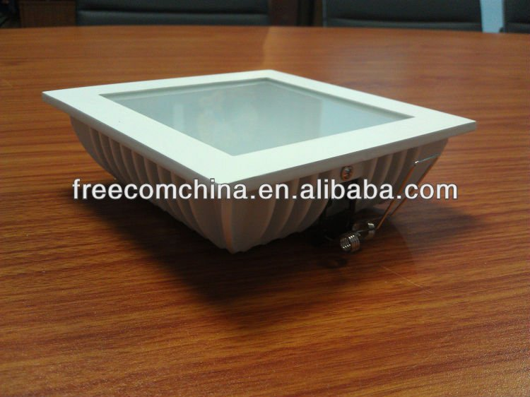 Factory in Foshan Aluminium Square LED Down Light (ONLY COVER)