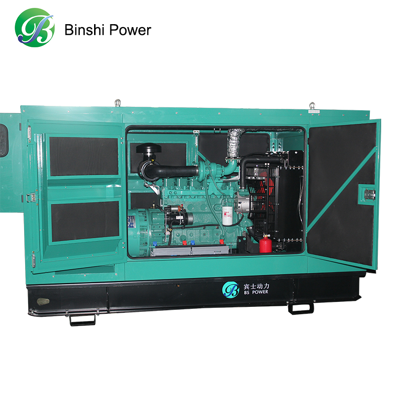 1MW Good Price Natural Gas Generator Exported to Russia Vietnam With Low Noise 65DB7M