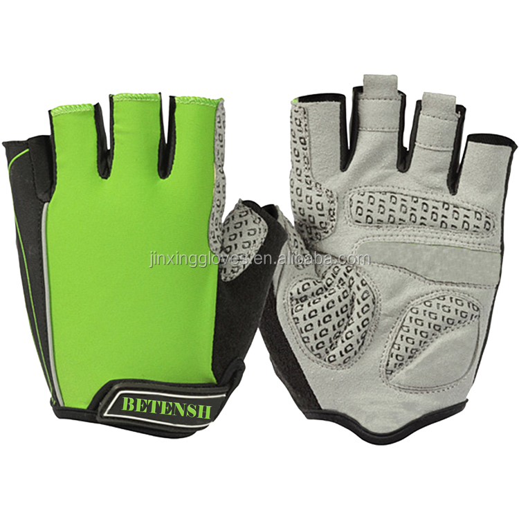 Bicycle gloves antiskid breathable seismic half refers to summer