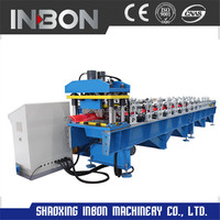 Excellent Quality Ridge Cap Roll Forming Machine For Roofing Panels