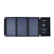 21w foldable portable solar panels charger bag with 2 usb port