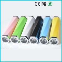 LED 2600mAh power bank phone power backup charger mobile long battery backup