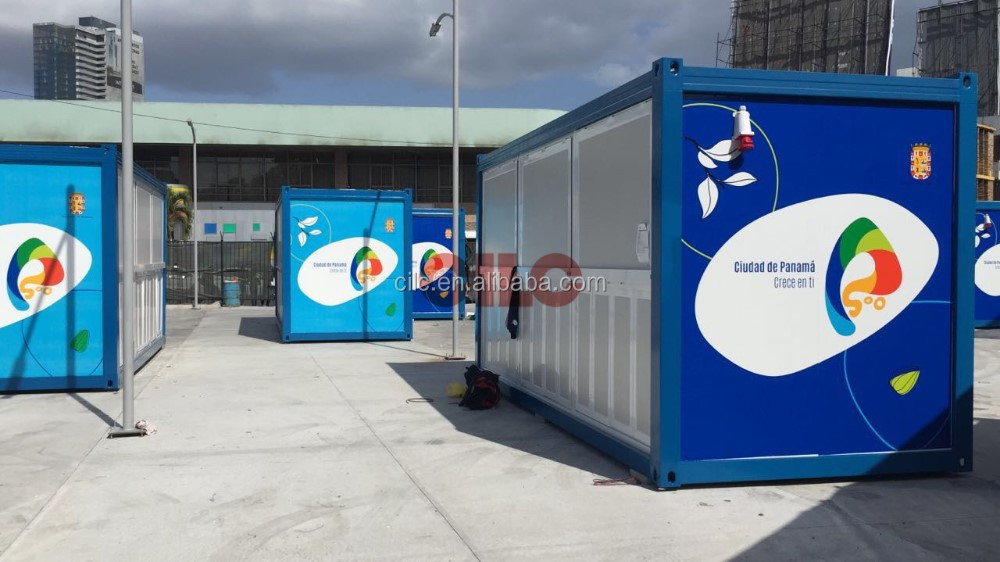Mobile Shop Container for South America Project