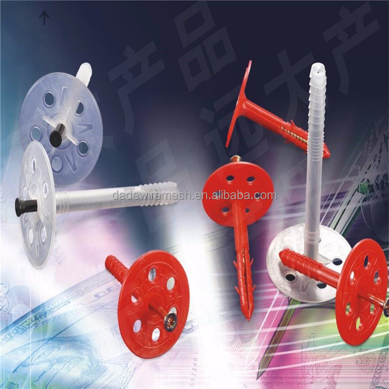 Insulation Fasteners/Plastic Fasteners/Insulation Nails from Anping