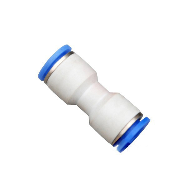 Quick Connect Tube Straight Joiner Pvc Tube Push In Fitting Plastic Union Quick Fitting