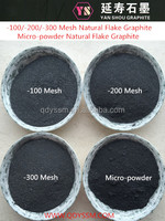 Carbon Brush Usage High Quality Flake Graphite